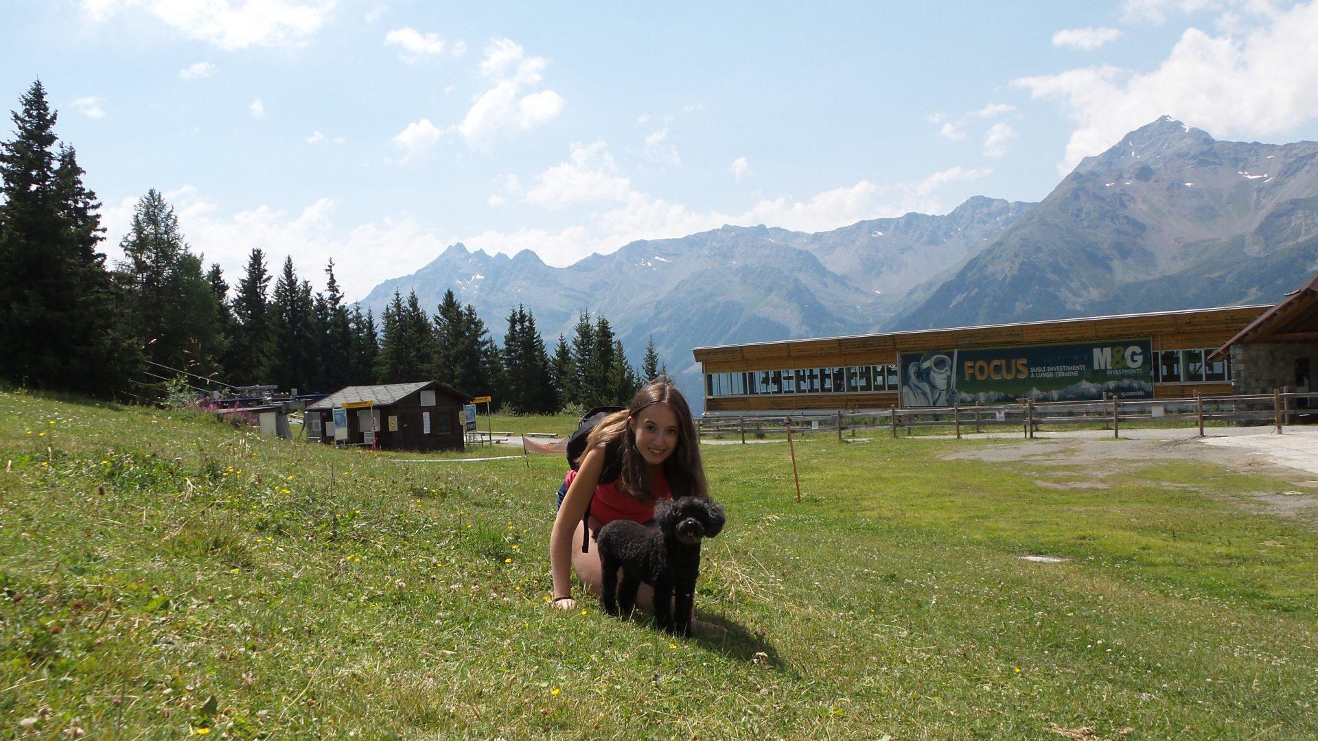 In montagna con Lizzie